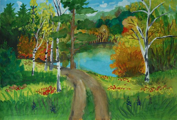 Красивые картинки леса для детей - смотреть, скачать бесплатно 10