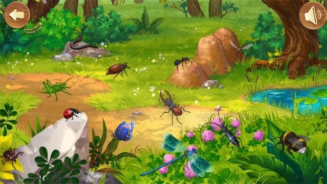 Красивые картинки леса для детей - смотреть, скачать бесплатно 11
