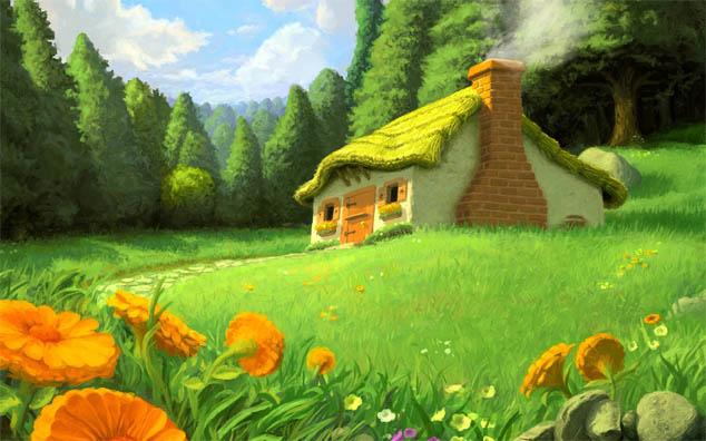 Красивые картинки леса для детей - смотреть, скачать бесплатно 15