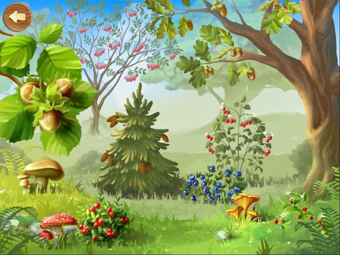 Красивые картинки леса для детей - смотреть, скачать бесплатно 16