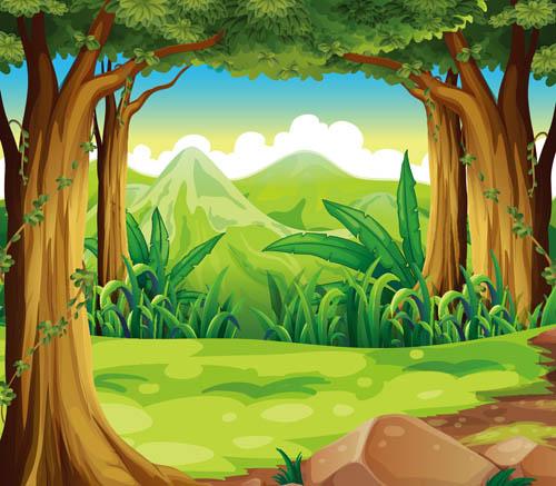 Красивые картинки леса для детей - смотреть, скачать бесплатно 7