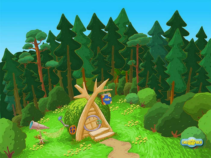 Красивые картинки леса для детей - смотреть, скачать бесплатно 8