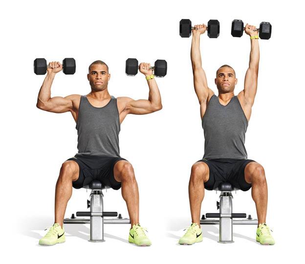 Лучшие и эффективные упражнения на плечи дома и в зале 3
