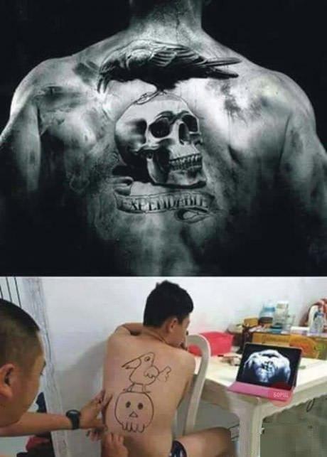 Неудачные татуировки фото и картинки - прикольные, смешные, новые 8