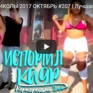 Новые смешные видео приколы - забавные и веселые, подборка №19