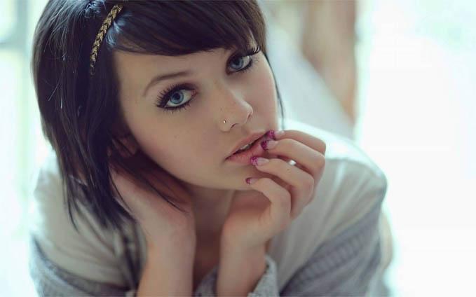 Самые красивые и милые девушки брюнетки - смотреть фотографии 10