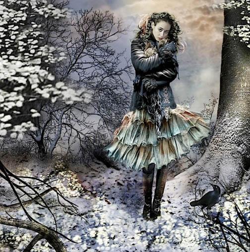 Сказочные и невероятные коллажи художника Гэйл Франи - подборка 14
