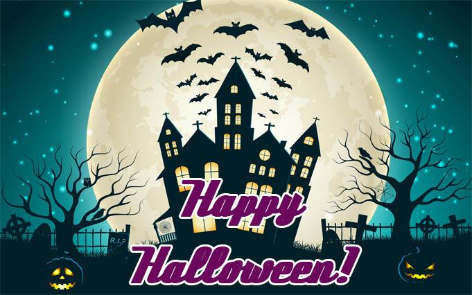 С Днем Хэллоуина открытки и картинки - красивые и прикольные 11