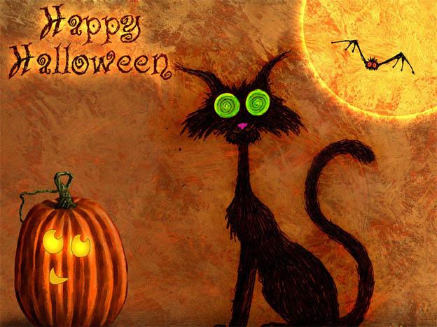 С Днем Хэллоуина открытки и картинки - красивые и прикольные 2