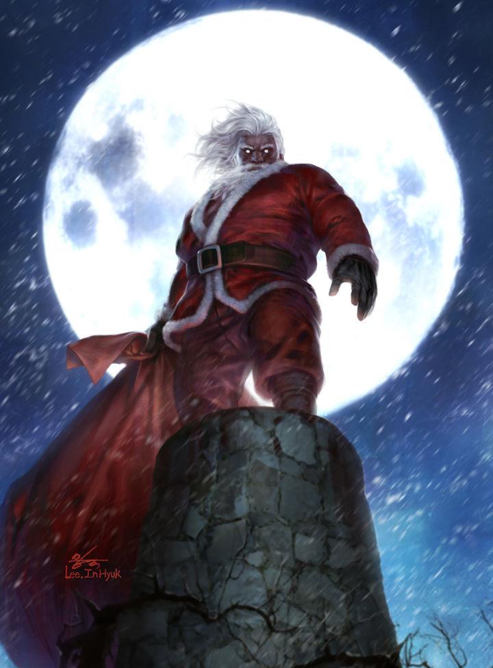 Дед Мороз и Снегурочка красивые картинки - подборка для детей 3