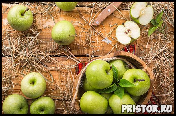 Как выбрать правильное яблоко и хранить их - основные рекомендации 4