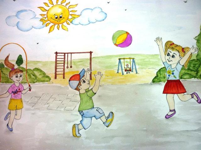 Картинки и рисунок на тему Как я провел лето - красивые и интересные 1