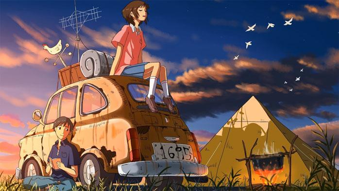 Картинки и рисунок на тему Как я провел лето - красивые и интересные 13