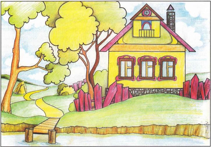 Картинки и рисунок на тему Как я провел лето - красивые и интересные 14