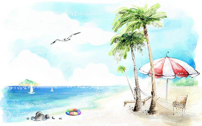 Картинки и рисунок на тему Как я провел лето - красивые и интересные 4