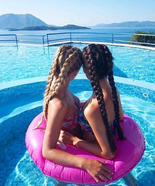 Картинки красивых волос на аву - прикольные, интересные, для девушек 15