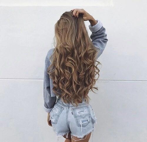 Картинки красивых волос на аву - прикольные, интересные, для девушек 8