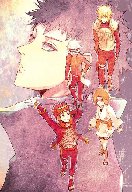 Картинки на аву аниме Наруто - самые прикольные и классные 15