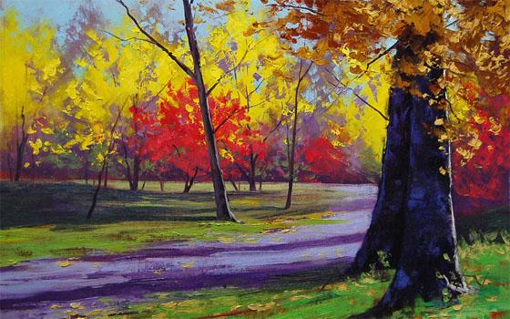 Картинки на тему Осень золотая - для детей, самые красивые и прикольные 4