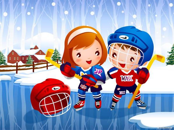 Картинки на тему спорт для детей - прикольные, красивые и интересные 2