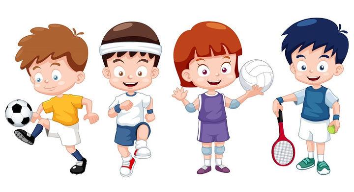 Картинки на тему спорт для детей - прикольные, красивые и интересные 6