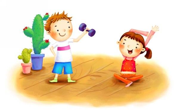 Картинки на тему спорт для детей - прикольные, красивые и интересные 7