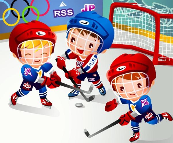 Картинки на тему спорт для детей - прикольные, красивые и интересные 8