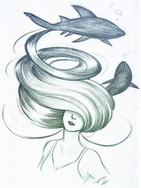 Рисунки для срисовки легкие для девочек