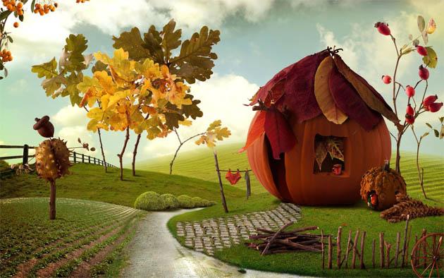 Наш волшебный зеленый дом картинки и рисунки - красивые и удивительные 11