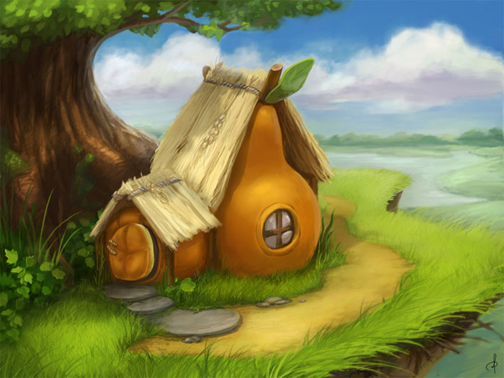 Наш волшебный зеленый дом картинки и рисунки - красивые и удивительные 4