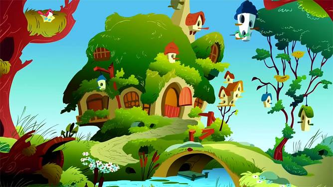 Наш волшебный зеленый дом картинки и рисунки - красивые и удивительные 5