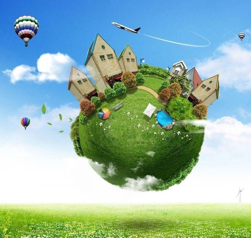 Наш волшебный зеленый дом картинки и рисунки - красивые и удивительные 7