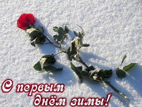 Поздравления с первым днем зимы - самые красивые открытки, картинки 9