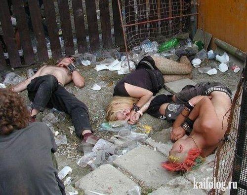 Смешные и прикольные фото с пьянок - ржачные и веселые, 2017 5