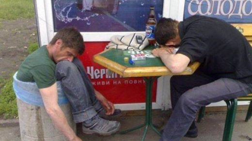Смешные и прикольные фото с пьянок - ржачные и веселые, 2017 8
