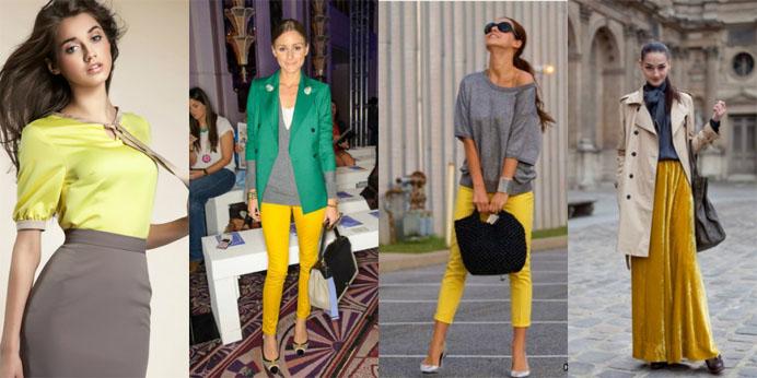 С какими цветами сочетается серый цвет - в одежде или интерьере 1