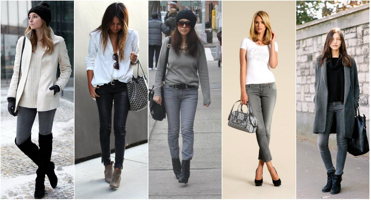 С какими цветами сочетается серый цвет - в одежде или интерьере 11