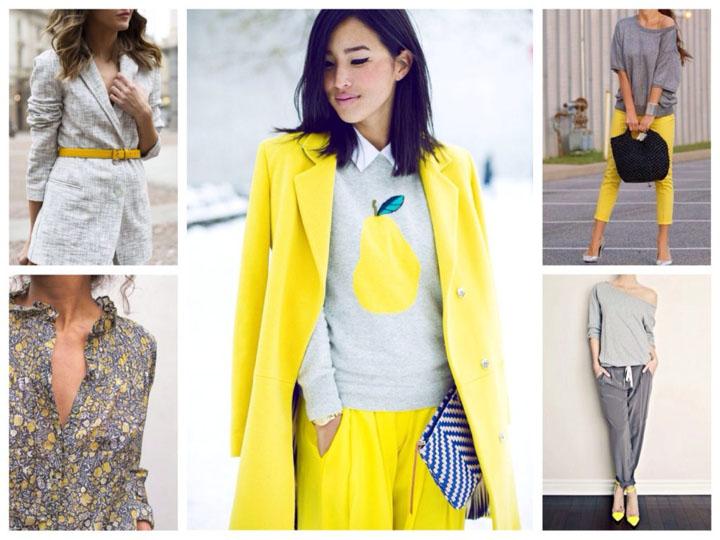 С какими цветами сочетается серый цвет - в одежде или интерьере 3