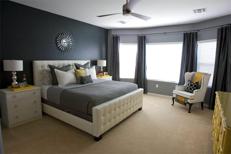 С какими цветами сочетается серый цвет - в одежде или интерьере 4