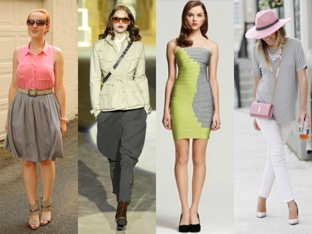 С какими цветами сочетается серый цвет - в одежде или интерьере 6