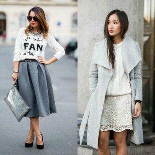 С какими цветами сочетается серый цвет - в одежде или интерьере 8