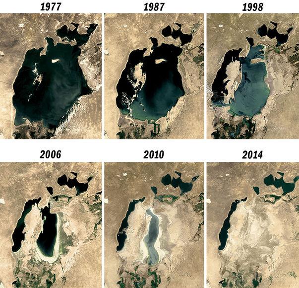 Топ-10 самых больших озер в мире - площадь и глубина, интересное 9