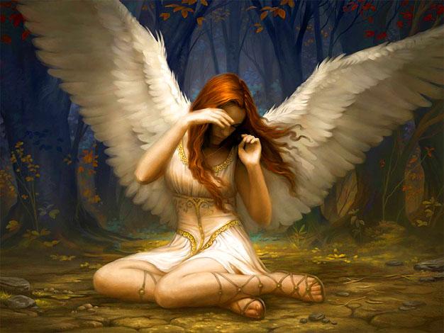 Фото девушек ангелов на аву 5