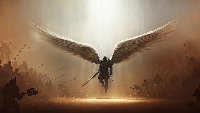 Фото и картинки ангелов на аву, аватарку - самые красивые и интересные 7