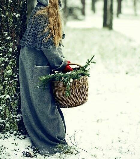 Девушка зимой картинки на аву - самые прикольные и красивые 16