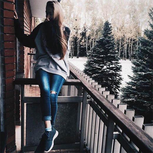 Девушка зимой картинки на аву - самые прикольные и красивые 4