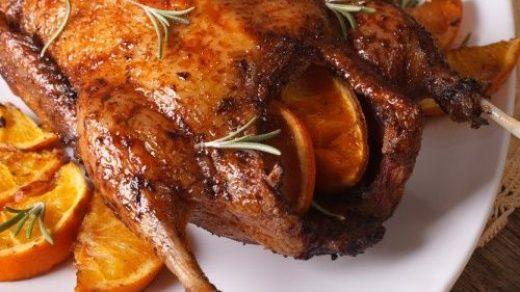 Как приготовить мясо мягкого гуся в духовке - пошаговый рецепт 3