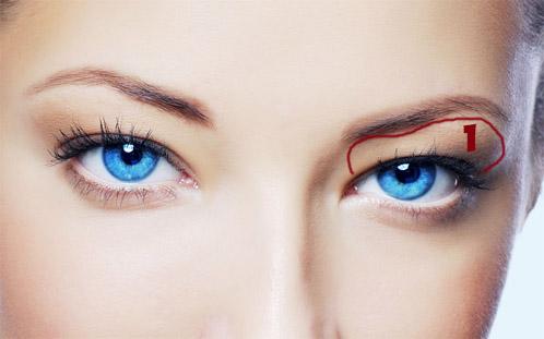 Как сделать идеальный макияж для голубых глаз - простые советы 1