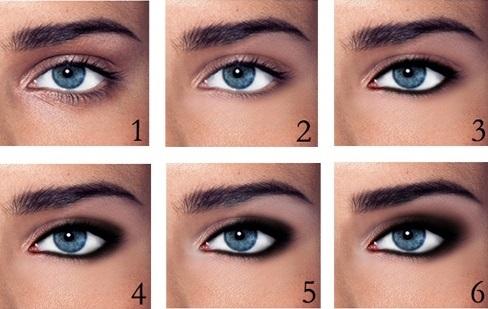 Как сделать идеальный макияж для голубых глаз - простые советы 8