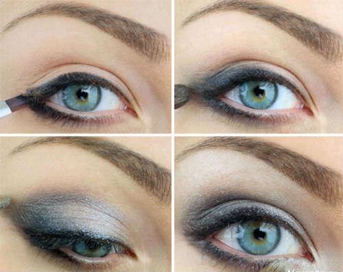 Как сделать идеальный макияж для голубых глаз - простые советы 9